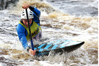 Canoeing at Tees White Water Centre 15th 16th of Oct 2016